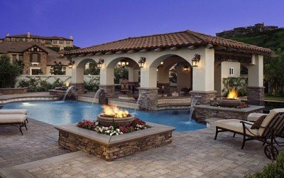 Why Build a Custom Kitchen, Grill, Fire Pit, Fireplace in your backyard?