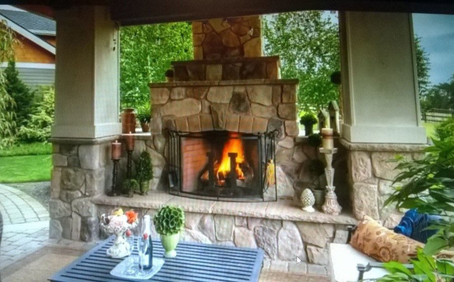 Fireplace-feature